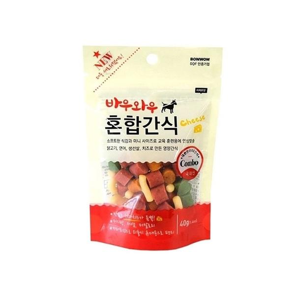 바우와우 혼합간식 (40g) ★유통기한임박 10/22까지★