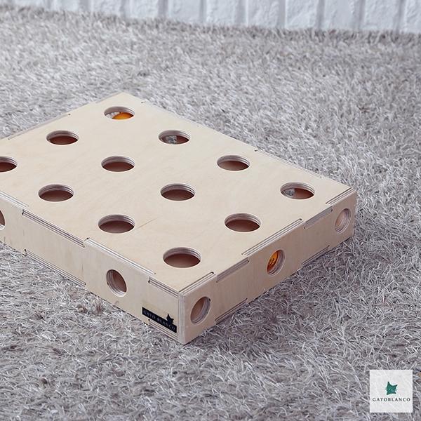 가또블랑코 고양이 장난감 틱톡 박스