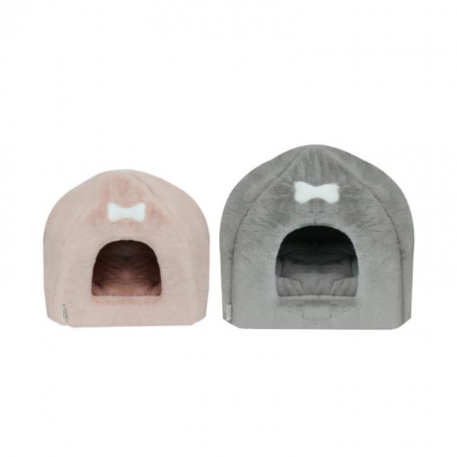 아페토 이글루 하우스 M, L (그레이/핑크)