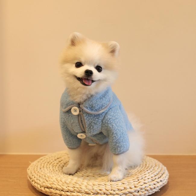 베아또 캔디덤블 자켓 - 블루