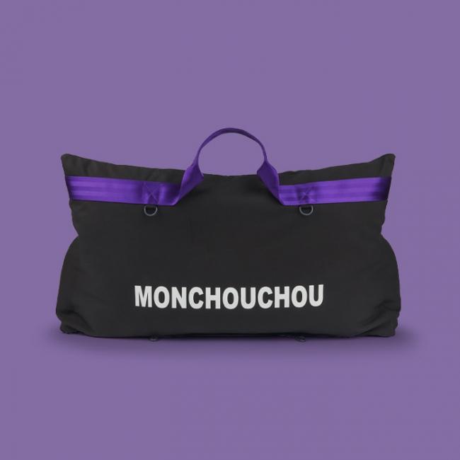 몽슈슈 8th 몽 카시트 슈퍼 사이즈 오프 블랙